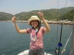 五目釣り、ウマズラ、メバル、カサゴ、チダイ、キュウセンなど色々釣れました