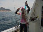 ウマズラ、マダイよく釣れました