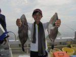 イサキ、ハゲ、中アジと五目釣りは何釣るか悩みますね