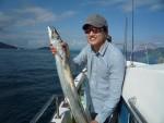 タチウオ、特大サイズも釣れてます